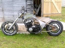 chopper project 2 honda 650