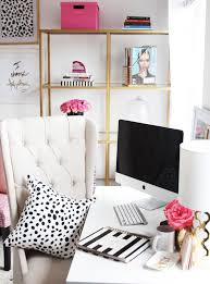 home office makeover. Chic Feminine | Home Office Makeover Ideas To Start The Year Fresh V