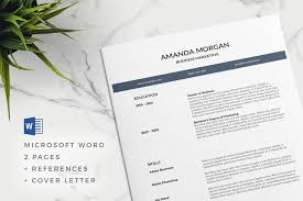 Creative Word Resume Templates 75 Best Free Resume Templates Of 2018