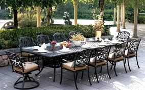 oversized patio chairs. Oversized Patio Furniture Really Encourage And Medium Size Of For 8 With Regard To Long Outdoor Table Decorations 15 Chairs