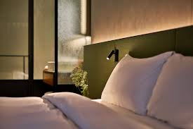 hotel bedroom lighting. Astro Lighting Warehouse Hotel Singapore Bedroom Night Detail With Bedside Lamp