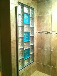 marvelous glass shower walls decorative glass block borders for a shower wall or windows glass shower