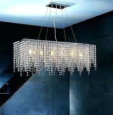 raindrop crystal chandelier modern rectangular raindrop crystal chandelier pendant lamp lighting fixture for dining room chandelier