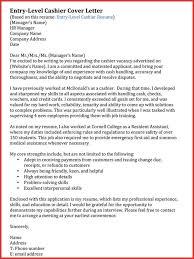 Lovely Sample Cover Letter For Cashier Position For Your Cashier