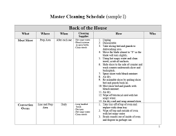 Household Chore List Template 40 Printable House Cleaning Checklist Templates Template Lab