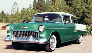 car of the week 1955 chevy bel air two door sedan