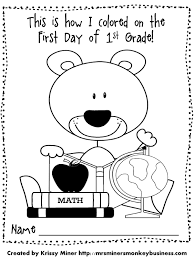 last day of school coloring pages and welcome to kindergarten free