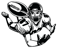 collection of football coloring pages nfl players them and try to solve