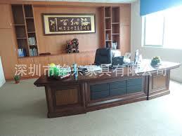 combination of solid wood desk boss desk executive desk