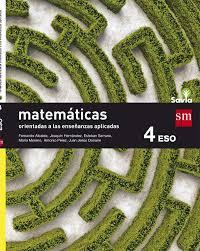 MATEMÁTICAS A (ORIENTADAS A LAS ENSEÑANZAS APLICADAS) 4º ESO SAVIA 16