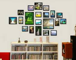 Picture Frame Collage Ideas For Wall Incredible Frames Ideas Wall