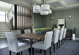 dining room table centerpieces home. faux magnolia centerpiece for contemporary dining room with dark wood floors table centerpieces home