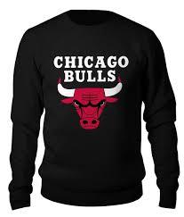 """Свитшот унисекс хлопковый """"<b>Чикаго Буллз</b>"""" #2199129 от Ti - Joy ..."""