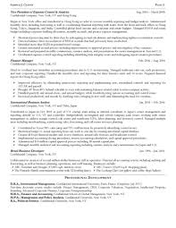 director of finance resume senior operating and finance executive resume