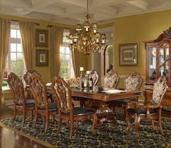 Luxury Kitchen Table Sets Homey Design Hd 8072 9 Pieces Luxury Formal Dining Table Set