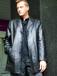 higgs leathers silas men s black leather long jackets