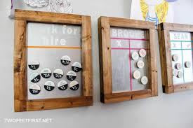 Diy Kids Magnetic Chore Chart
