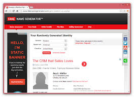 Name Fake Generator Stash Author -