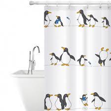 <b>Tatkraft</b> Penguins Тканевая штора для ванной комнаты или ...