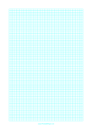 Printable Graph Paper With One Line Every 4 Mm On Letter