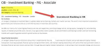 investment banking in uk