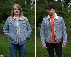 levi s denim trucker sherpa jacket double review