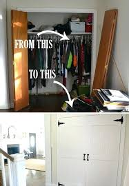 makeover closet door ideas diy