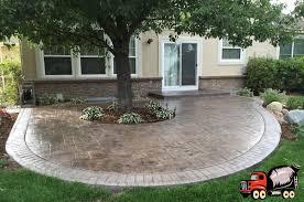 denver stamped concrete patio