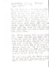informative essay format example