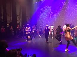 "Yvette Griffith on Twitter: ""Audience, band and dancers freestyling at  @jazzrefreshed meets @BConvention… """