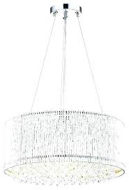 drum chandelier with crystals crystal unique sophisticated large