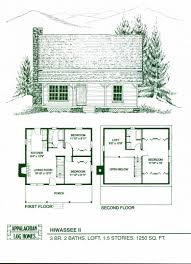 5 bedroom house plans with walkout basement and cabin floor plans with loft lovely log home