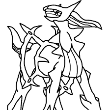 Pokemon Dialga Coloring Pages At Getcolorings Com Coloring