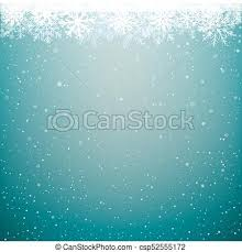 Winter Snow Cloud Christmas Background