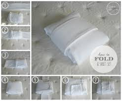 fold fitted sheet duo ventures organizing the linen closet