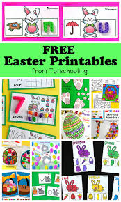 Easter activities for kids, easter party, easter games. Easter Color By Number Totschooling Toddler Preschool Kindergarten Educational Printables
