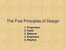 The 5 Basic Principles Of Design Ppt The Five Principles Of Design Powerpoint Presentation