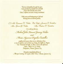 Etiquette Wedding Invitations Wording