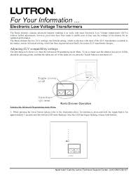 lutron low voltage dimmer dimming wiring diagram maestro magnetic lutron low voltage dimmer dimming wiring diagram maestro magnetic