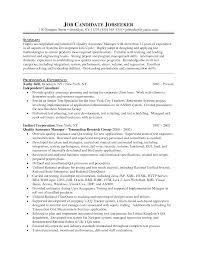 Quality Assurance Auditor Sample Resume Mitocadorcoreano Com