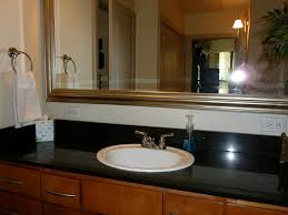 Amusing Design Ideas using Round Black Glass Sinks and Black ...