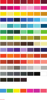Pantone Color Chart Deluxe Screen Color Chart Pms 185 C