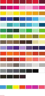 C Color Chart Pantone Color Chart Deluxe Screen Color Chart Pms 185 C