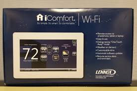 lennox icomfort thermostat. picture 1 of lennox icomfort thermostat t