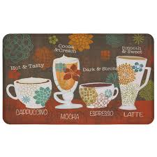 mohawk home tasty coffee words 18 in x 30 in kitchen mat
