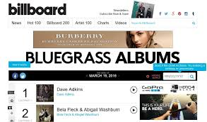 Billboard Bluegrass Chart 1 Billboard Bluegrass Chart Dave Adkins