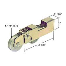 need tandem roller assembly specified for patio door