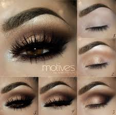 easy step by step smokey eye makeup tutorials for brown eyes