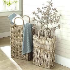 wicker wall basket wicker wall basket tall wicker storage basket flat wicker wall baskets