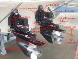 mercruiser bravo iii overview review and photo diagrams mercruiser bravo iii basic parts diagram